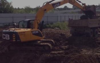 Разработка строительных площадок